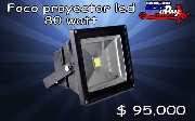 Foco proyector led 80 watt