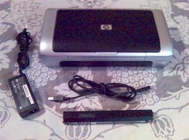 Impresora Port 225 Til Hp 460c Wifi Usb Bluetooth