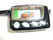 Alarmas  autos doble via control remoto lcd spy
