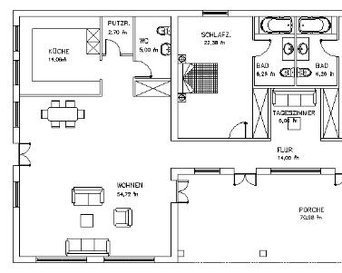 Dise o de la casa de sus sue os clasificados for Dibujos de muebles para planos arquitectonicos