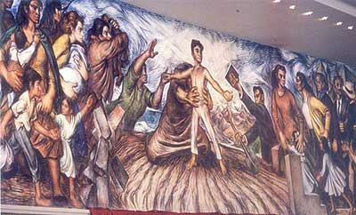 Se hacen murales historicos clasificados for Caracteristicas de un mural