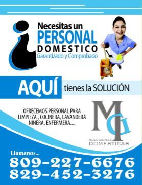 Agencia De Empleo Mg Soluciones Domesticas Clasificados