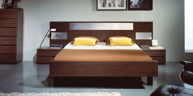 Camas alcobas dormitorios clasificados for Muebles modernos montevideo
