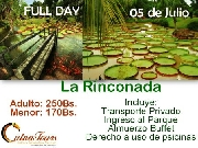Restaurant campestre full day